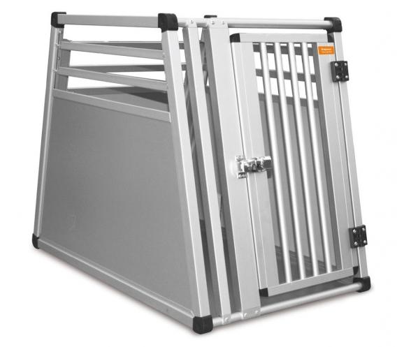 Aluminium hundebur til bil maks 35 kg