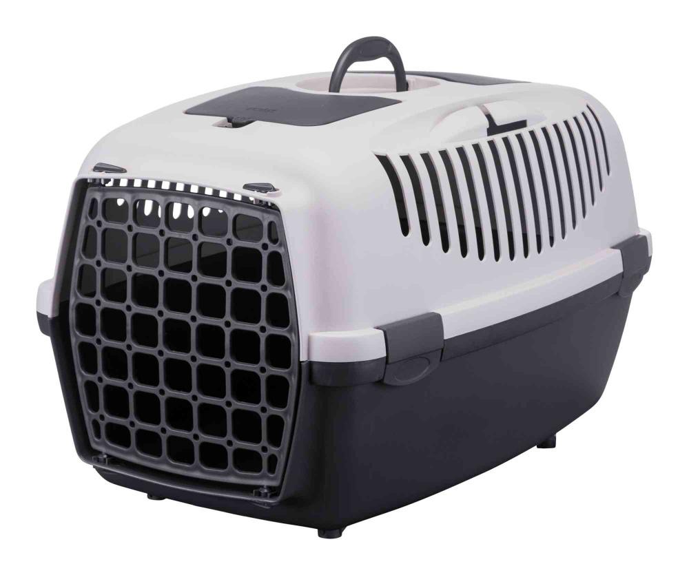 Er du eier av en liten katt eller hund og trenger et bur for transport av ditt kjæledyr? Da passer nettopp dette buret ypperlig for deg. Dette fordi det er bygget i robuste, men samtidig lette materialer som gjør reising med akkurat dette buret svært attraktivt.